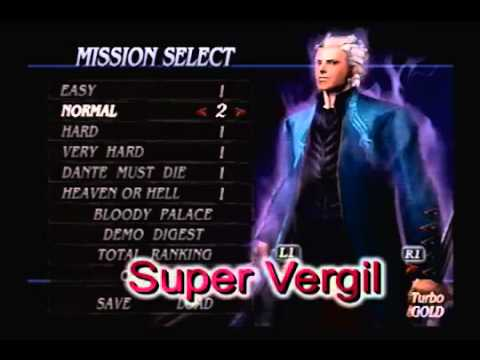 Devil may cry 3|costumes|virgil|ps2|ps3|pc youtube.