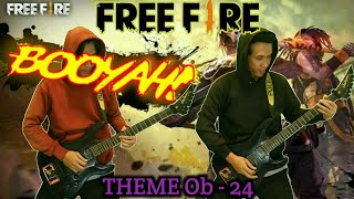 Free Fire Booyah Day Theme Song New Update Cover Guitar