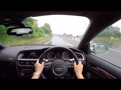 【Test Drive】2016 Audi S5 Sportback - POV City/Highway Drive