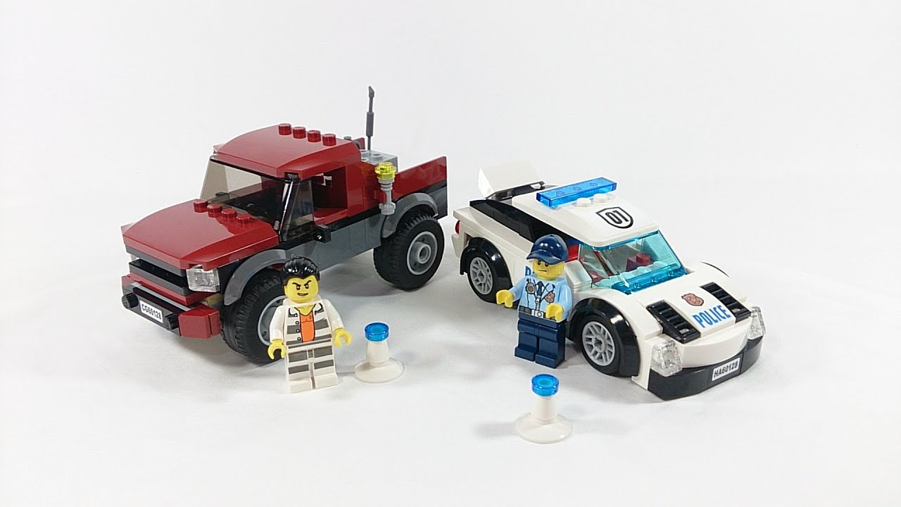 LEGO City Police Pursuit 2016 Review Set 60128! - YouTube