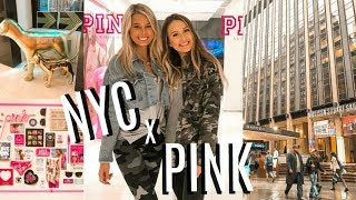 what I did in New York with VS PINK