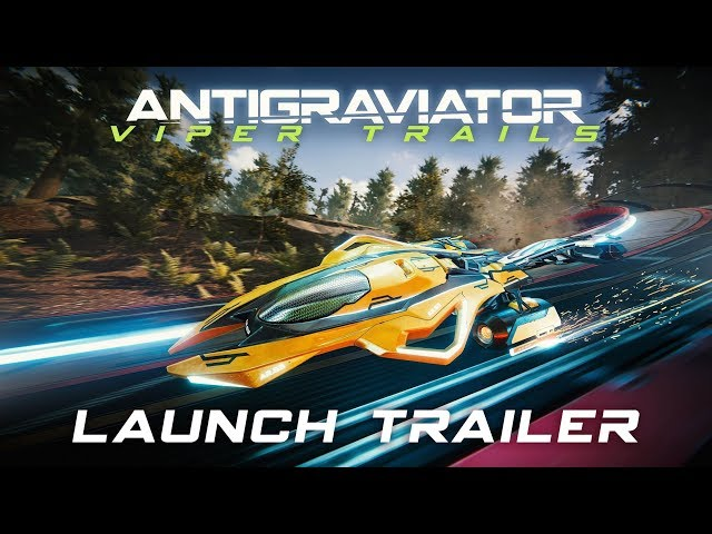 Antigraviator: Viper Trails DLC - Launch Trailer (4K)