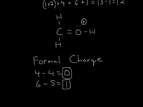 Lewis Structure (H2COH)+