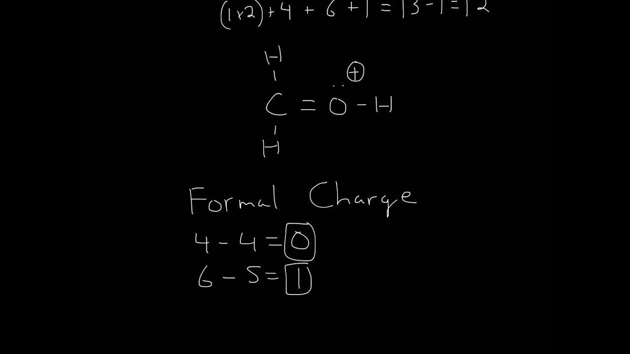 Lewis Structure (H2COH)+ - YouTube H2coh Lewis Structure
