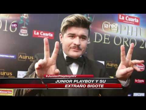 """Junior Playboy en los Copihue de Oro: """"Me parezco a Brad Pitt"""""""