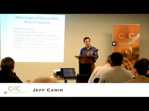 """Convertible Debt 101"" with Jeff Canin"
