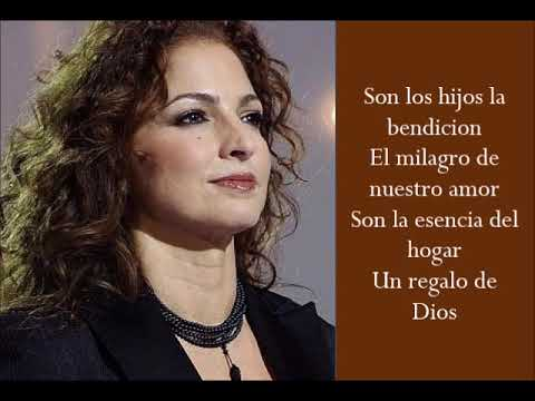 Milagro - Gloria Estefan - (Lyrics)
