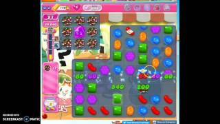 Candy Crush Level 694 help w/audio tips, hints, tricks