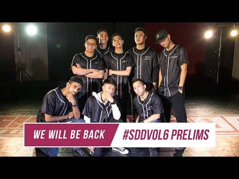 We Will Be Back | Front Row | Singapore Dance Delight Vol. 6 Prelims 2016 | RPProductions