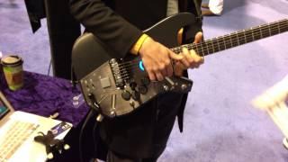 Visionary Instruments MIDI Guitar at NAMM
