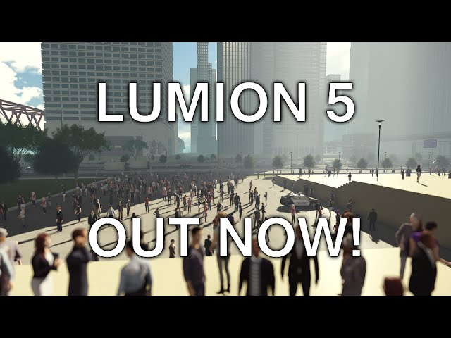 Lumion 5 Release Trailer