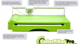 CutterPillar Pro ABS  (Worlds Best Paper Cutter/Trimmer)