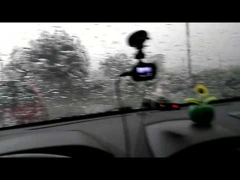 Белово сильный ливень град Кузбасс