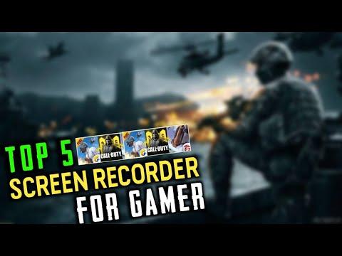 Top 5 Screen Recorder For Gamer || #Pubg #FreeFire #CODM Gamer Best Screen Recorder For Android