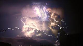 ⚡️ Thunderstorm and Rumbling Thunder at Home ⚡️ NO LOOPS