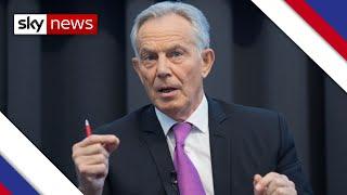 Blair says EU's actions over Northern Ireland were 'unacceptable'