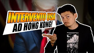 Gli USA intervengono ad Hong Kong: come?