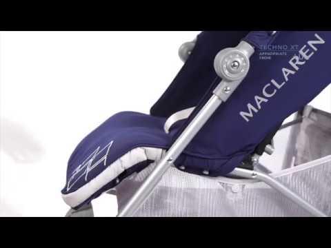 Коляска-трость Maclaren Techno XT (Макларен Техно Икс Ти) - YouTube