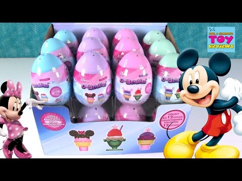 Thumbnail: Disney D-Lectalbes Surprise Egg Opening Collection 1 & 2 Toy | PSToyReviews