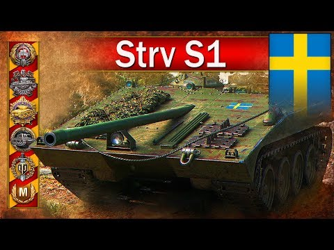 Strv S1 - Mistrzostwo świata i 300 000 zarobku - BITWA - World of Tanks