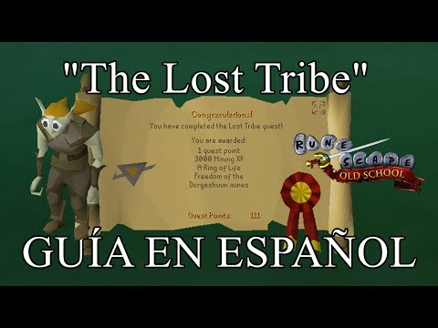 [OSRS] The Lost Tribe Quest (Español)