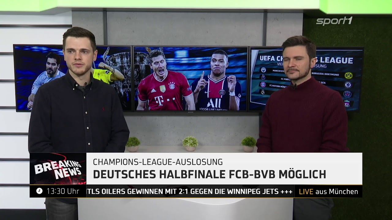 BREAKING NEWS - Champions-League-Auslosung - YouTube
