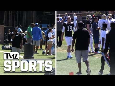 Diddy -- FIGHT FIGHT FIGHT ... Supports Son At UCLA FB Practice   TMZ Sports
