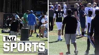 diddy fight fight fight supports son at ucla fb practice   tmz sports