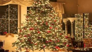Christmas Tree 10' x 10' CP Backdrop Computer Printed Scenic Background
