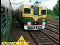 Three Train Together Naihati to Bandel Local Bandel to Sealdah & Howrah Bandel Jn Local At Bandel
