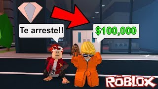 SI ME ARRESTAS TE REGALO ROBUX!! | ROBLOX Jailbreak★