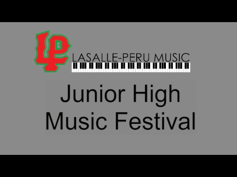 LPHS Junior High Music Festival