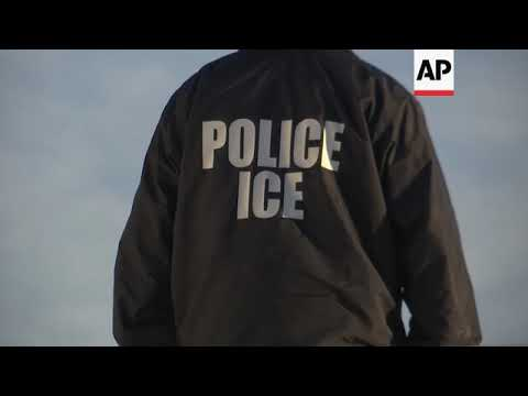 Deported immigrants get flight on 'ICE Air'
