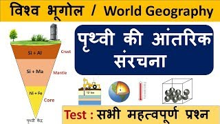 Gambar cover World Geography : पृथ्वी की आंतरिक संरचना & All Important Questions -CrazyGkTrick