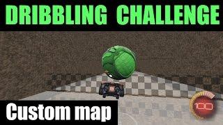 Rocket League | Dribbling Challenge | Custom Map!