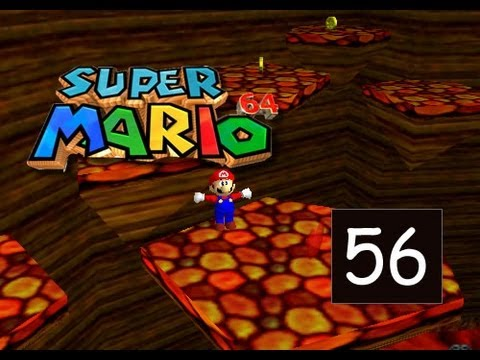 Super Mario 64 - Lethal Lava Land - Hot-Foot-It Into The Volcano - 56/120