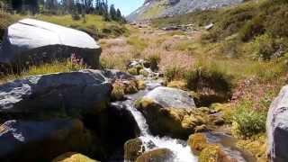 Panhandle Gap Wonderland Trail MT Rainier National Park