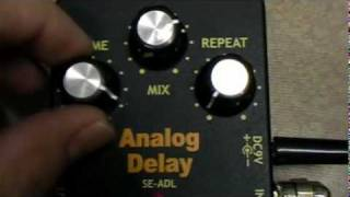 ARTEC ANALOG DELAY EFFECT PEDAL DEMO