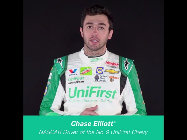 Chase Elliott welcomes UniFirst to the Hendrick Motorsports No. 9 Team!