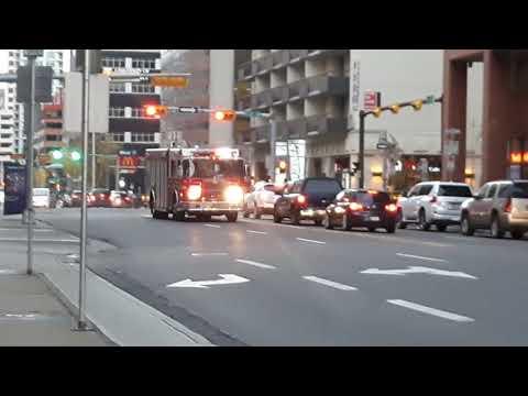 Calgary Rescue 2 Responding
