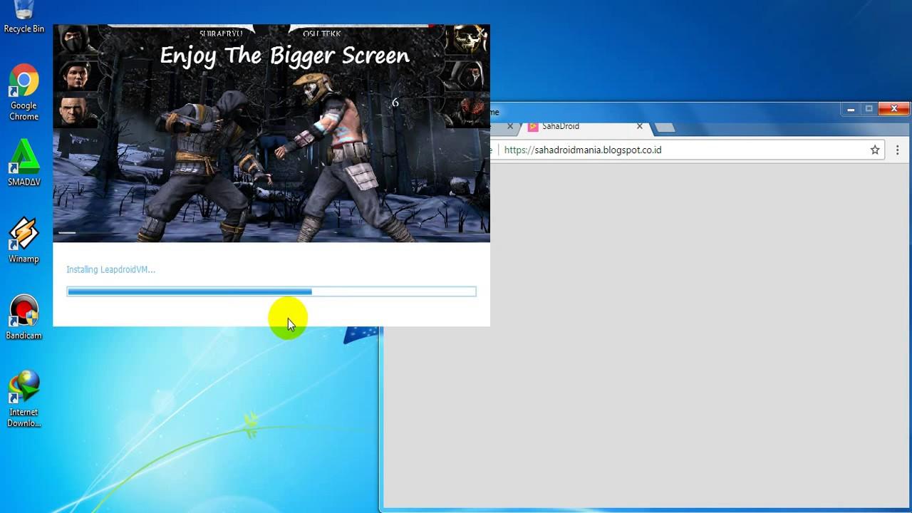 Cara Install Emulator Android di PC Leapdroid