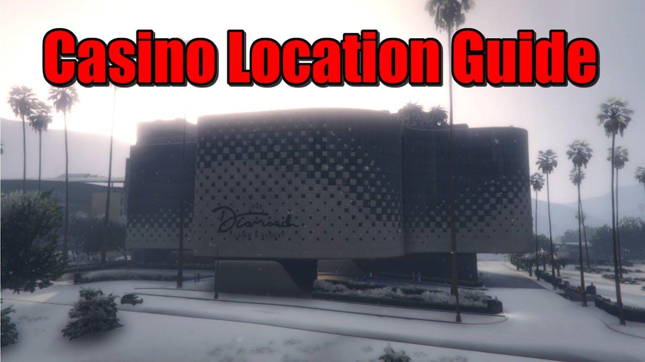 Gta 5 Diamond Casino Location Guide Xbox One Xbox 360 Ps4 Ps3 Pc Youtube