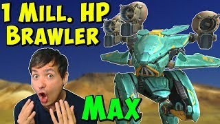 1 Million HP Brawler! War Robots Max Ao Guang Taran Mk2 Gameplay WR