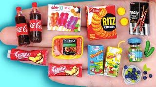 26 EASY REALISTIC DIY MINIATURE BARBIE IDEAS ~ Mini Pocky, Sausage, Cocacola  and more!