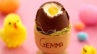 Chocolate Easter Eggs (easy, No-bake Recipe) - Gemma's Bigger Bolder Baking Ep 63