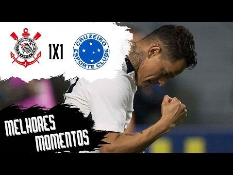 Corinthians 1 x 1 Cruzeiro - Melhores Momentos - Campeonato Brasileiro 2016