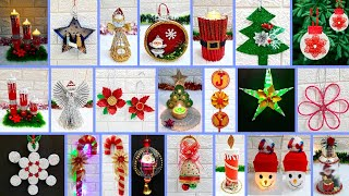 Economical 20 Easy Christmas Craft idea | Best out of waste Low budget Christmas craft idea (Part 2)