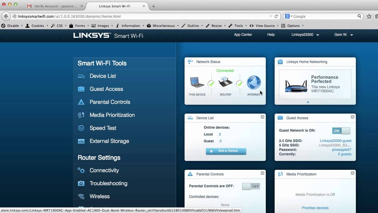 All dating sites-available default linksys router