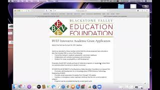 How to Apply for BVEF School Grants 2021 video