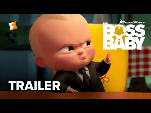 The Boss Baby Official Trailer - Teaser (2017) - Alec Baldwin Movie